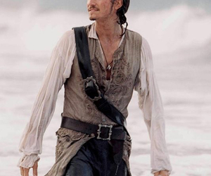 orlando bloom, will turner, and cool image