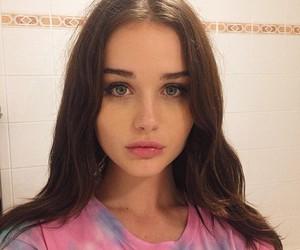 girl, eyes, and icon image