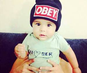 baby, obey, and cute image