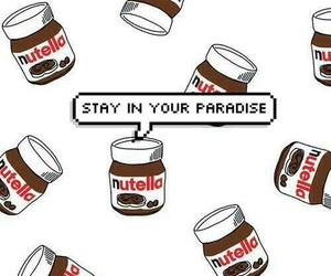 nutella, wallpapers, and paradise image