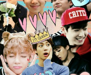 Collage, jin, and v image