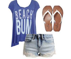 all, beach, and bum image