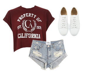 babe, california, and fashion image