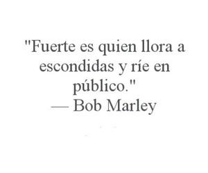 bob marley, frases, and fuerte image
