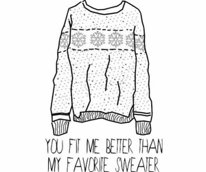 quote and sweater image