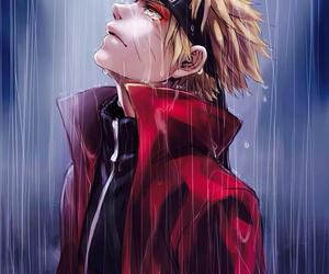 naruto, anime, and rain image