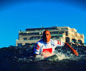 kelly slater, surf, and surfboard image