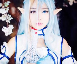 cosplay, sao, and asuna image