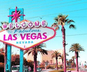 Las Vegas, Nevada, and pink image
