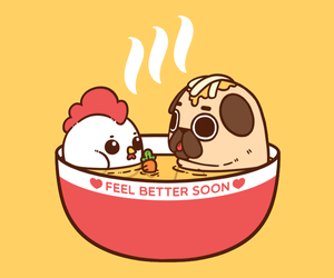 pug and puglie image