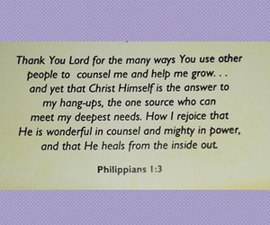god, blessings, and thankfulness image