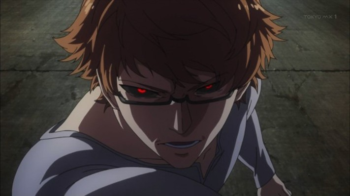 spectacled character Tokyo Ghoul season 2 episode 1 trailer