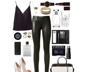 black, fashion, and night image