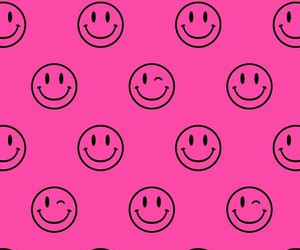 pink, wallpaper, and smile image
