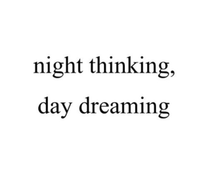 dreaming, night, and thinking image