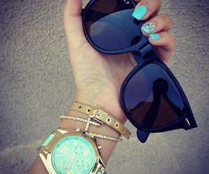 nails, watch, and bracelet image