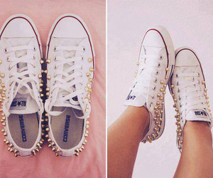 shoe, white, and shoes image