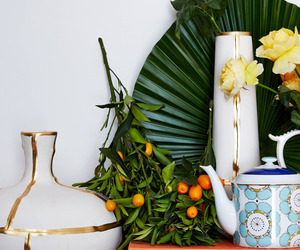 book, decor, and garden image