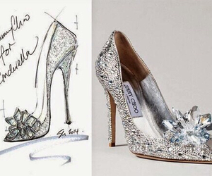 cinderella, shoe, and shoes image