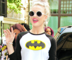 little mix, perrie edwards, and batman image