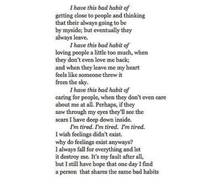 black and white, broken, and depressed image