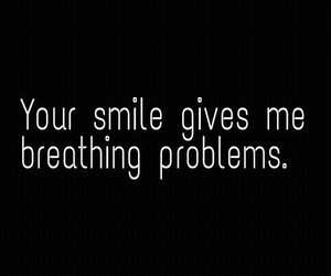 smile, love, and problem image
