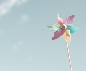 pastel, sky, and wind image