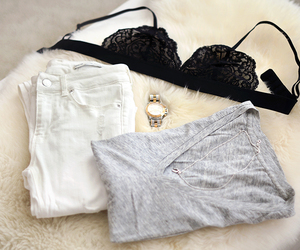 blogger, bra, and clothes image