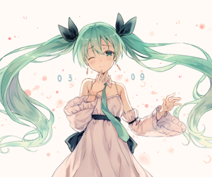 vocaloid, anime, and miku image