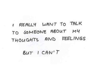 quotes, feelings, and talk image