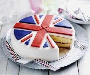cake, food, and england image