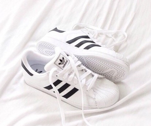 adidas, shoes, and white image