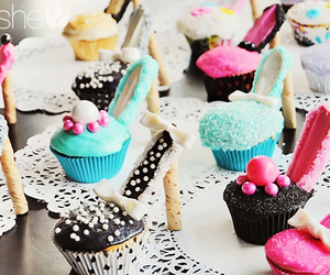 cupcakes, high heels, and cute image