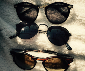 summer and sunglasses image