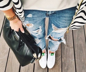 adidas, bag, and jacket image
