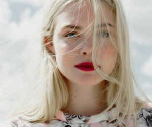 Elle Fanning and blonde image