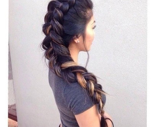 beautiful, girls, and hairstyle image