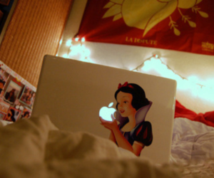 apple, snow white, and imac image