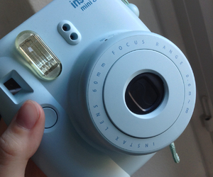 blue and camera image