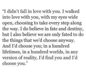 love, couple, and destiny image