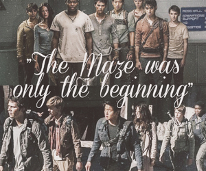 book, the maze runner, and movies image