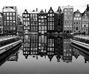 amsterdam, black and white, and black image