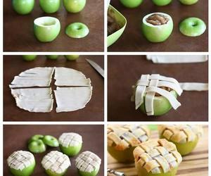 food, apple, and diy image