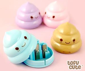 kawaii, poop, and pastel image