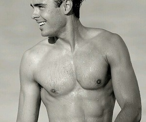 abs, body, and zac efron image