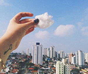 clouds, sky, and city image