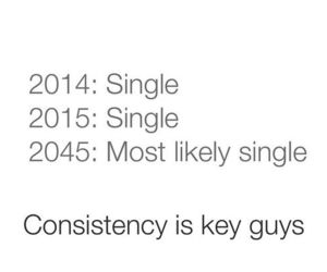 single and consistency image