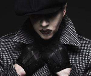 brian warner, goth, and the pale emperor image