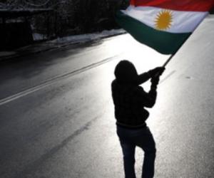 kurdish flag, rouge jaune vert, and drapeau kurde image