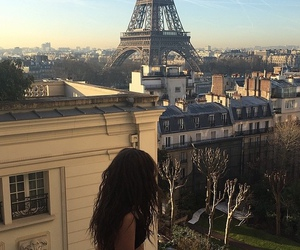 paris, lorde, and eiffel tower image